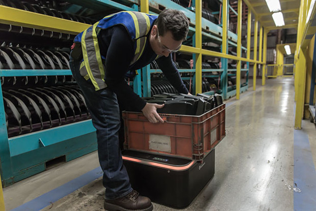 OTTO 100 расширяет линейку транспортных роботов Clearpath