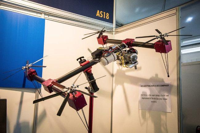 Квадрокоптер на бензиновом двигателе посадочные шасси жесткие к беспилотнику dji