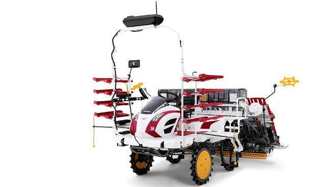 Автономная машина для посадки направляется в рисовые поля (+видео)
