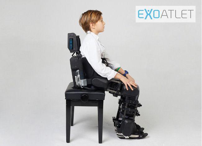 Компания ExoAtlet анонсировала прототип детского экзоскелета