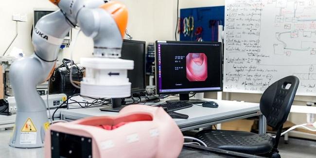 В Британии разработали систему колоноскопии с помощью роботизированного манипулятора