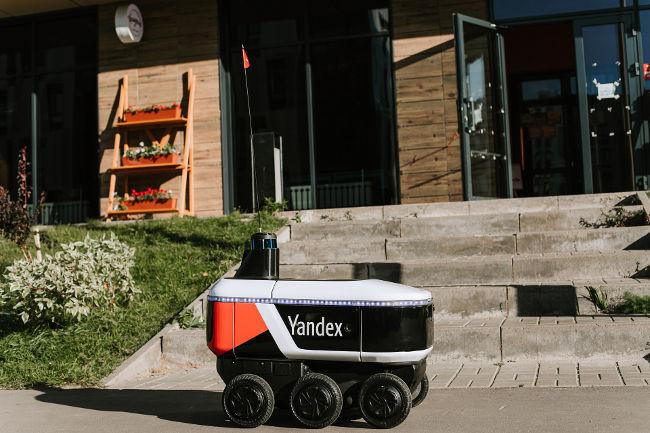 Яндекс.Роверы доставляют еду жителям Иннополиса