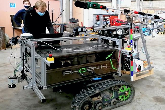 Немецкие разработчики представили робота для обрезки фруктовых деревьев