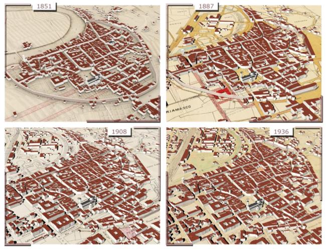 Карты оживают: создан новый метод 4D-моделирования зданий при помощи машинного обучения