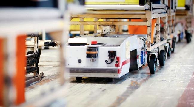 Nissan ставит старые АКБ от Leaf EV I в логистические роботы