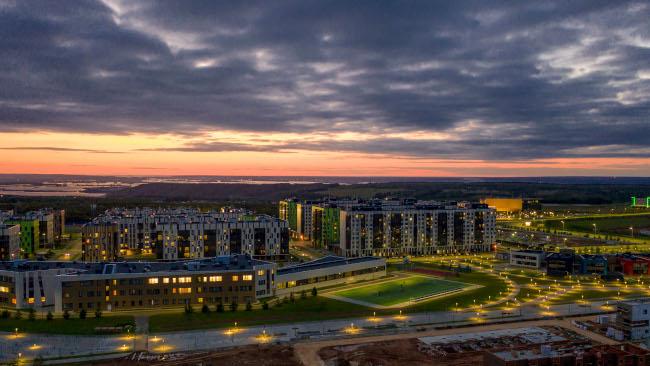 Во время масштабного строительства в Иннополисе сформируется инфраструктура автономных станций для беспилотников