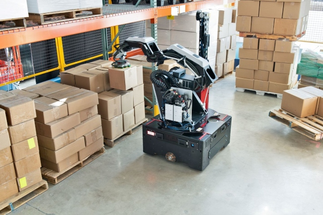 Boston Dynamics работает над новым складским роботом Stretch