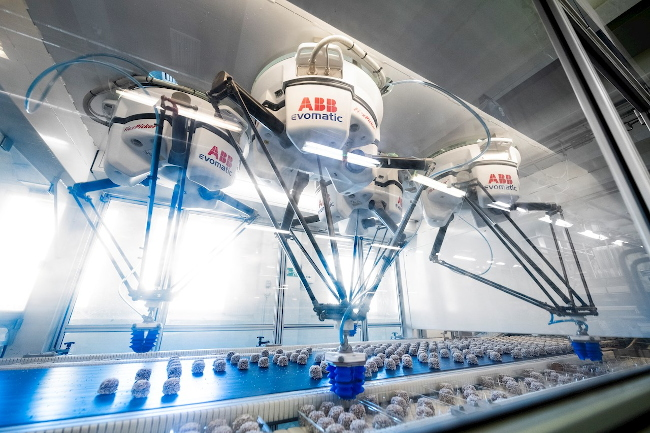 Вкусная выпечка от роботов ABB